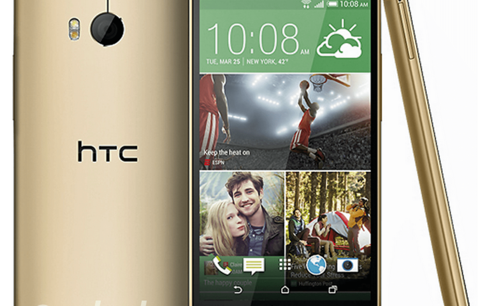 "New gold ""HTC One 2014"" leaks in images ahead of official unveiling"