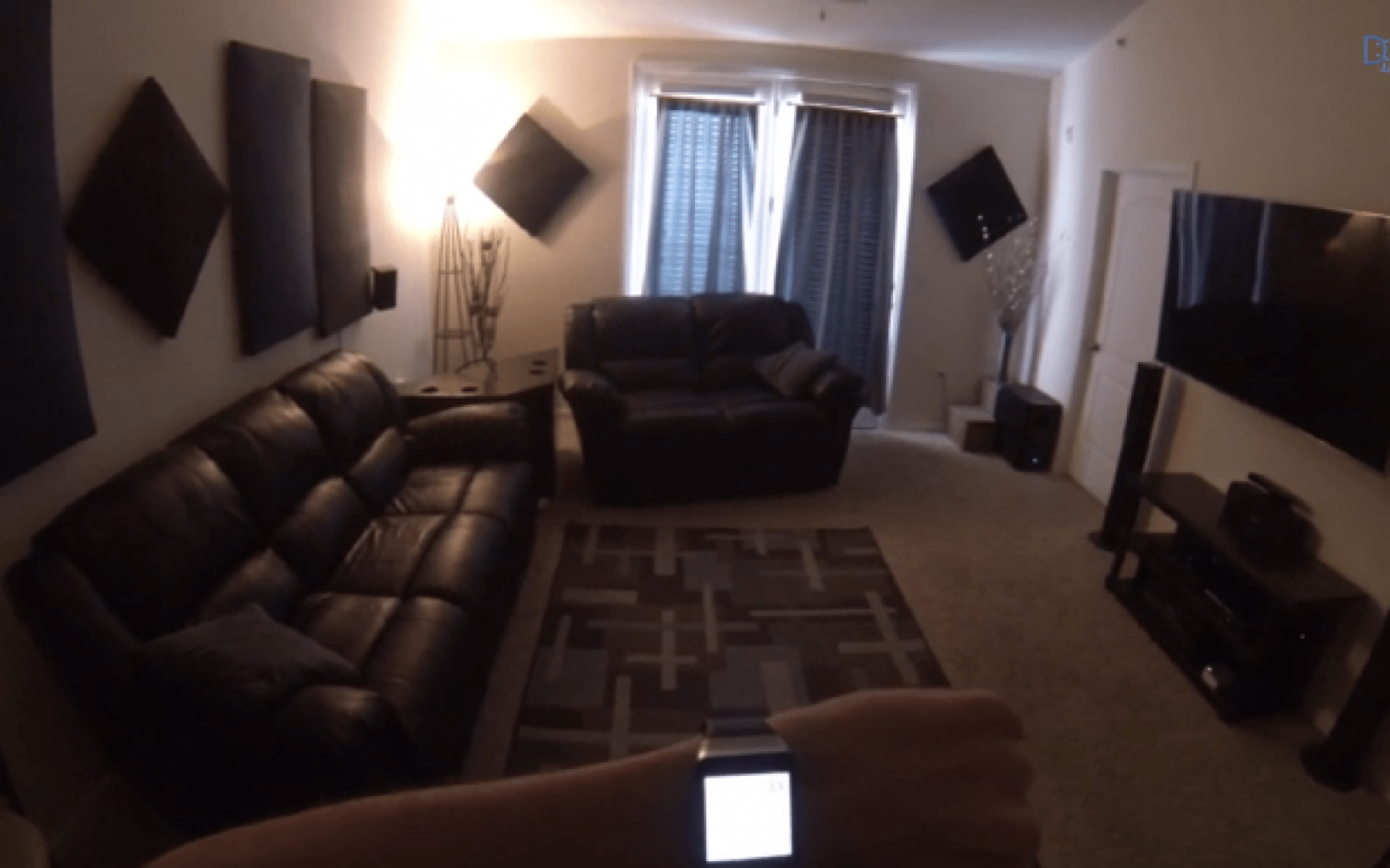 Developer demos slick DroidKC home automation using Android
