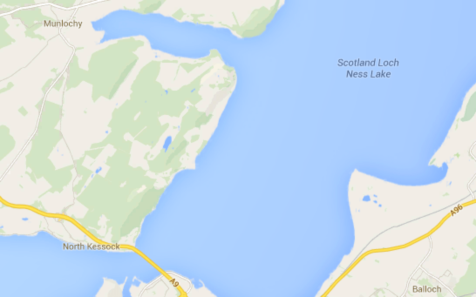 Google Maps mixup falsely identifies Moray Firth as \'Loch Ness Lake ...