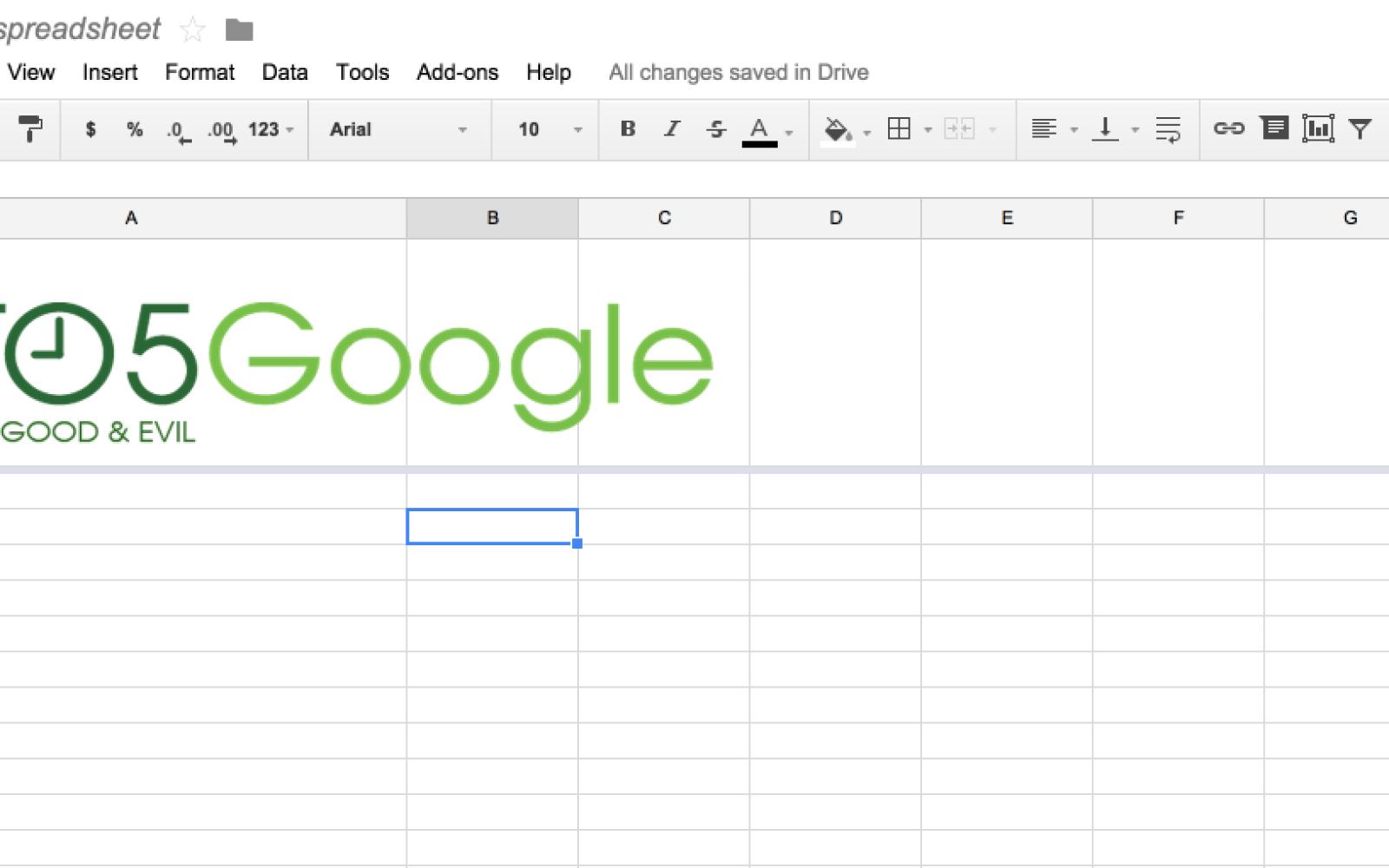 Google Sheets Update Lets You Add Images To Header Cells ToGoogle - Google spreadsheet