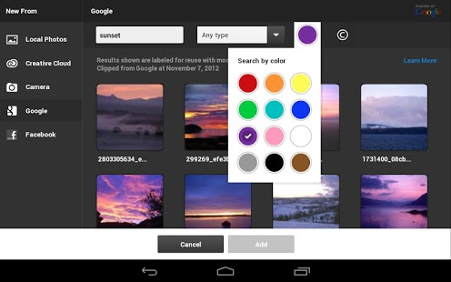 Photoshop Touch Android 1