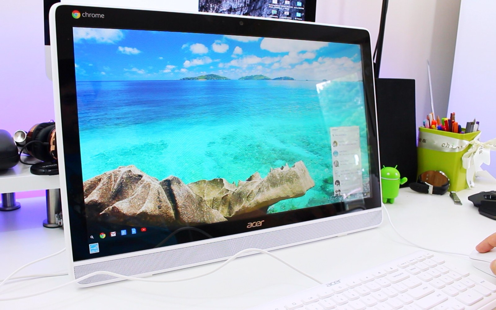 Acer Chromebase Touch: Unboxing the all-in-one Chrome OS touchscreen desktop [Video]