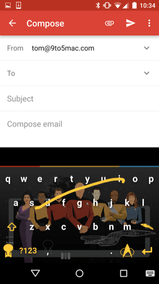 keyboard example