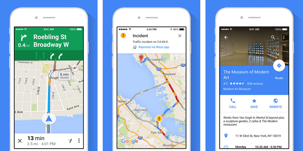 Google Maps comes to the Apple Watch in latest iOS app