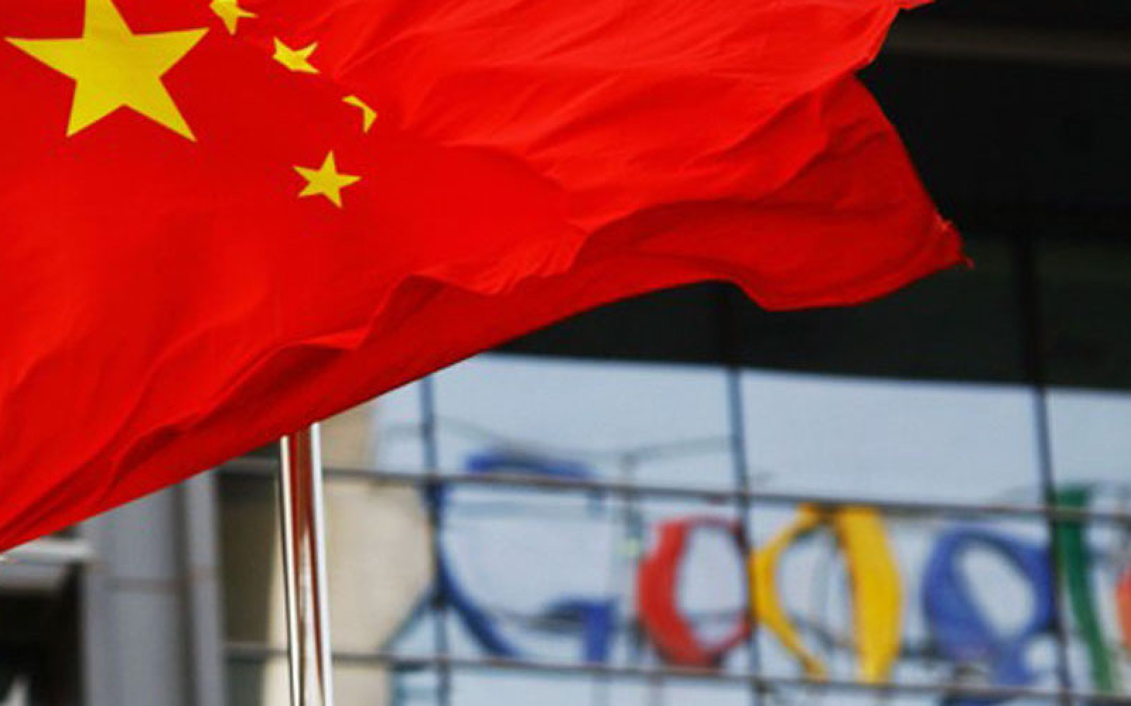 Google somehow got through China's firewall for nearly two hours last night