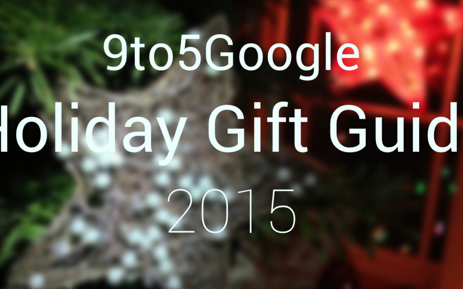 9to5Google Gift Guide: Novelty swag presents for the ultimate Android fan in your life