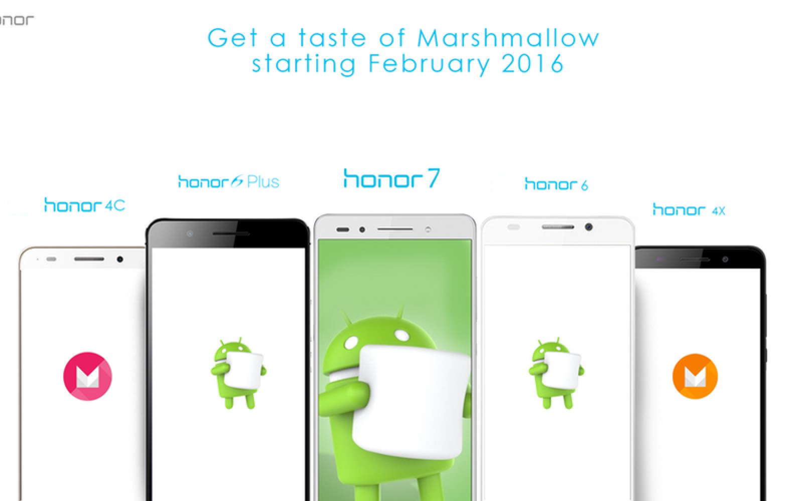 Huawei's Honor handsets getting Android 6.0 Marshmallow update in February 2016