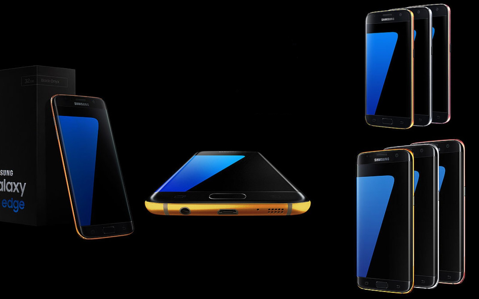24K gold-plated Galaxy S7 and S7 Edge will set you back at least $2370, pre-orders live now