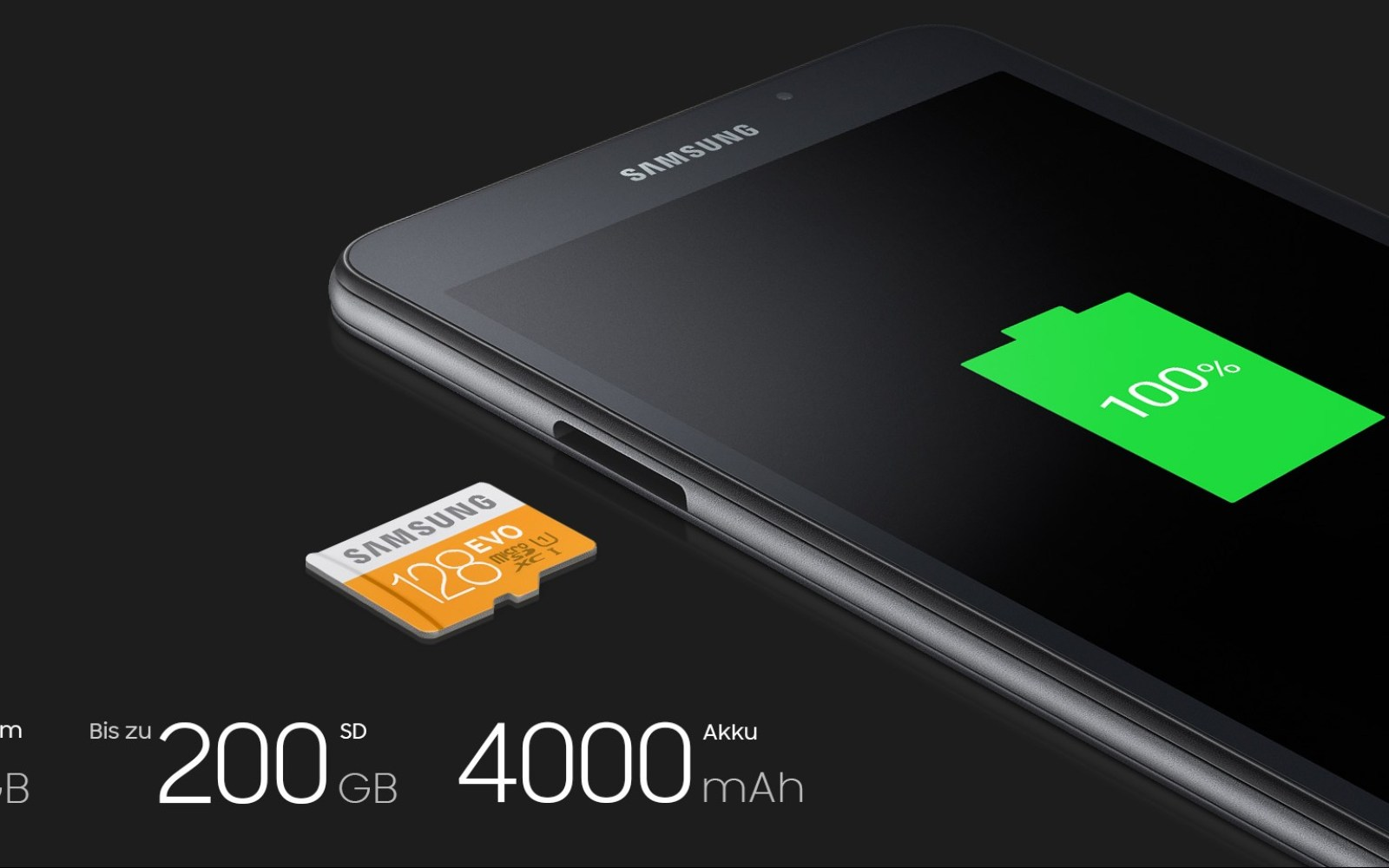 Samsung's latest tablet: the 7-inch Galaxy Tab A w/ microSD slot + 4000mAh battery
