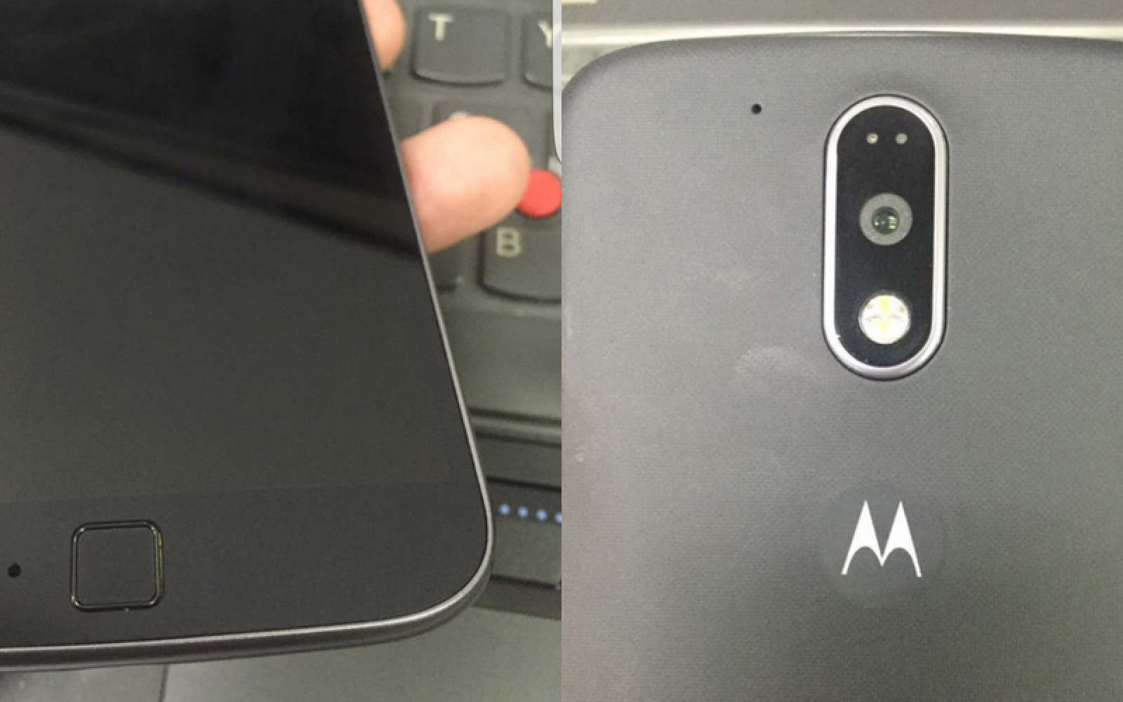 Moto G4 leaks in real life with redesigned camera housing, front-loaded fingerprint sensor