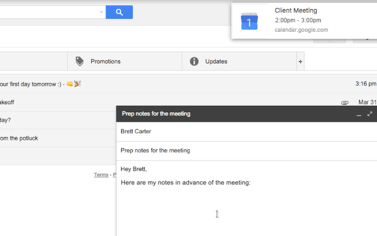 Google Calendar now sends web notifications to remind you of
