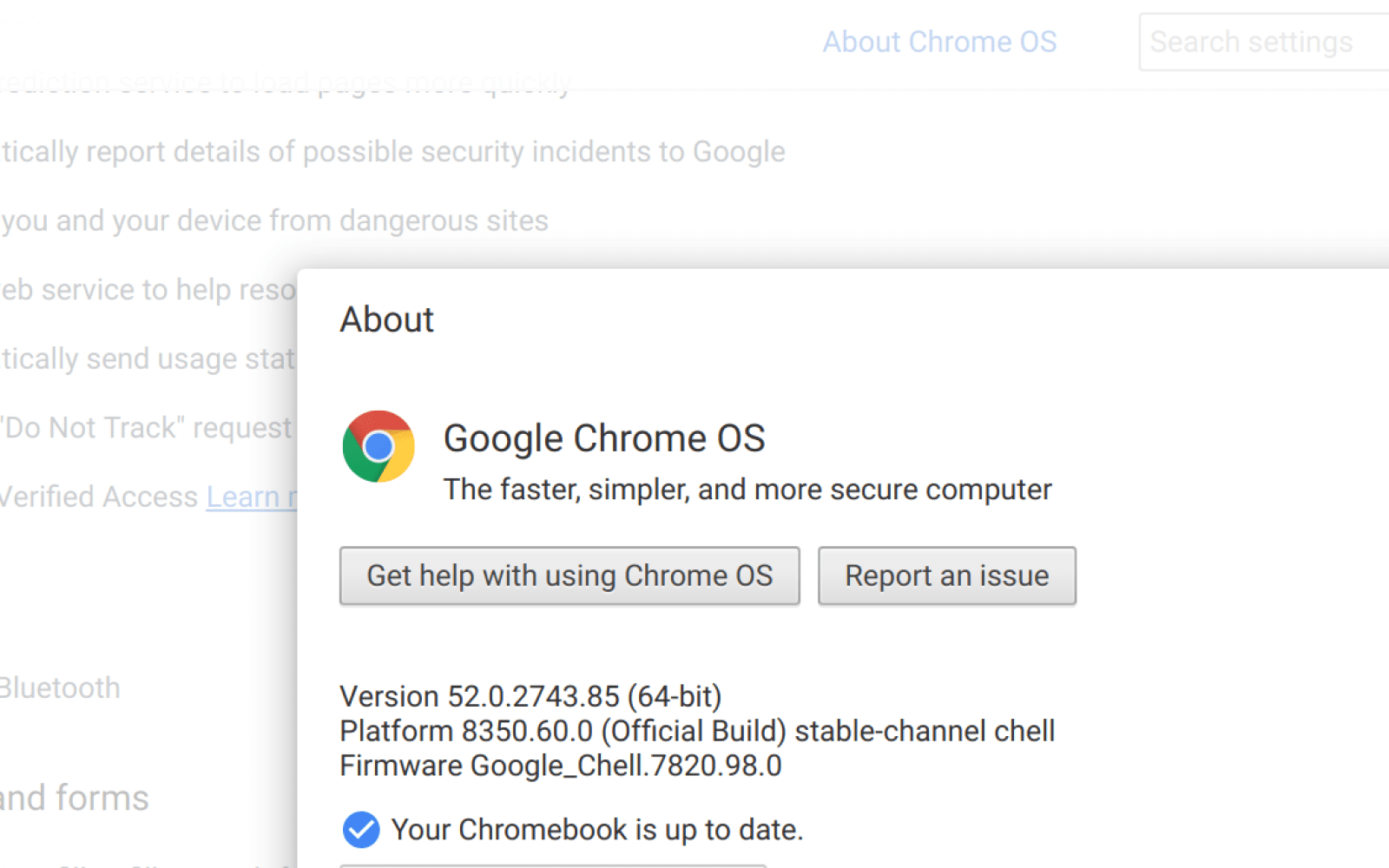 Chrome OS 52 rolling out with many enterprise updates