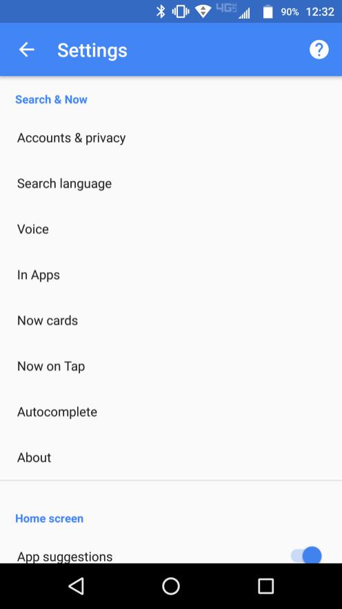 Google app 6.4