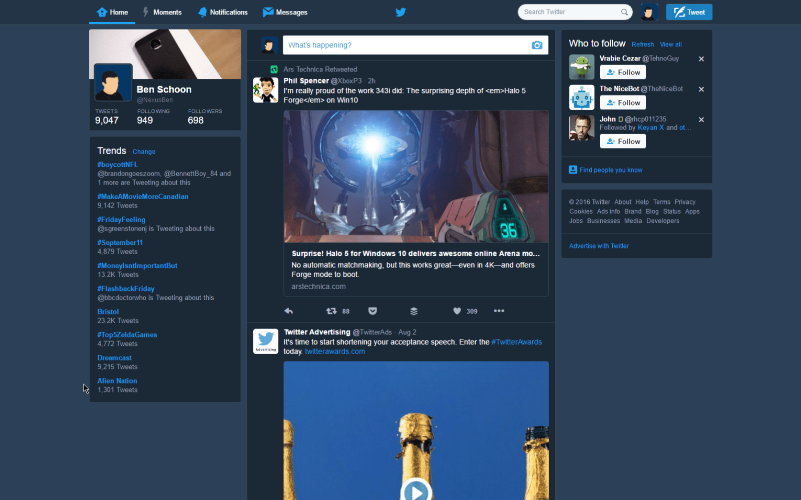 Bring Twitter's night mode to the desktop with this Chrome extension