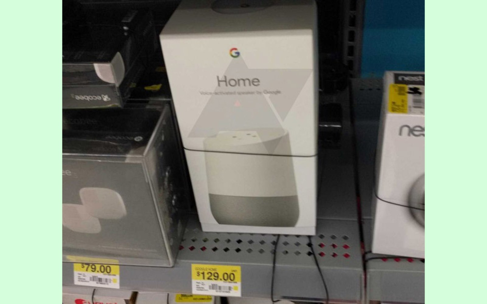Google Home popping up at some Walmart stores, but you still can't buy it