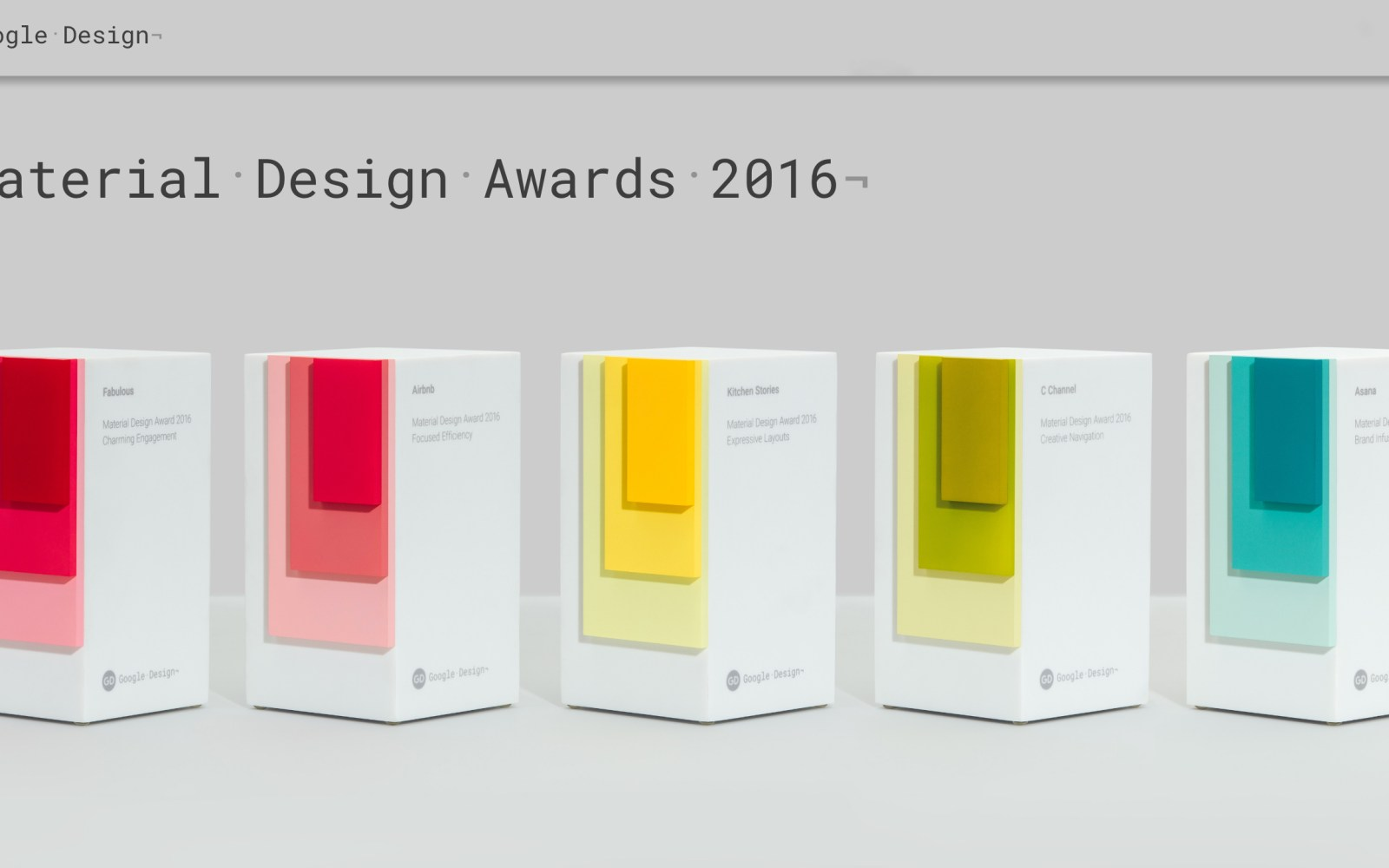 Google just published the Material Design Awards for 2016, here are the winning Android apps