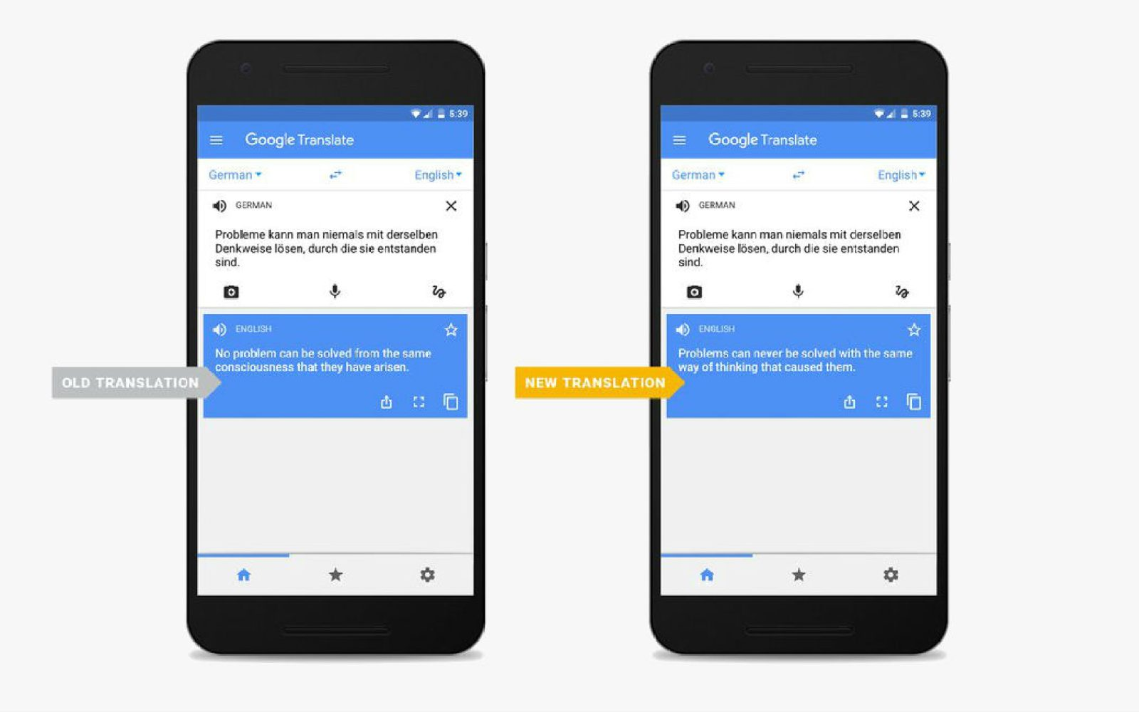 Google Translate rolling out neural machine translation improvements in more languages