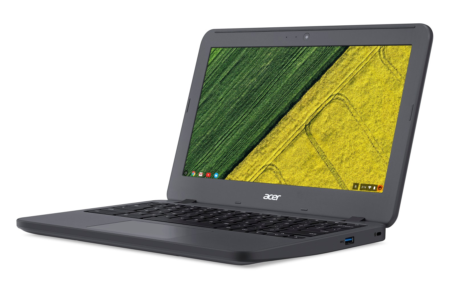 Acer debuts the education-focused rugged Chromebook N7 at CES 2017