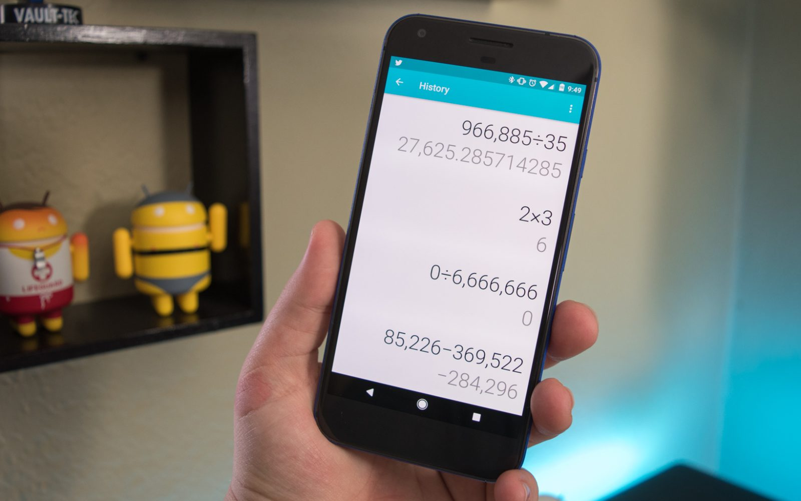 Latest Google Calculator update introduces calculation