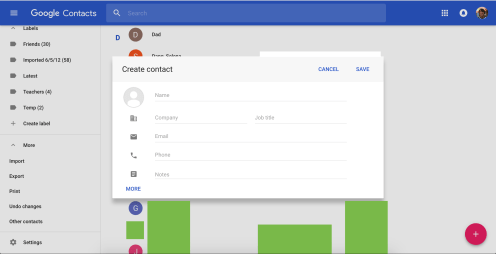 google-contacts-material-design-3