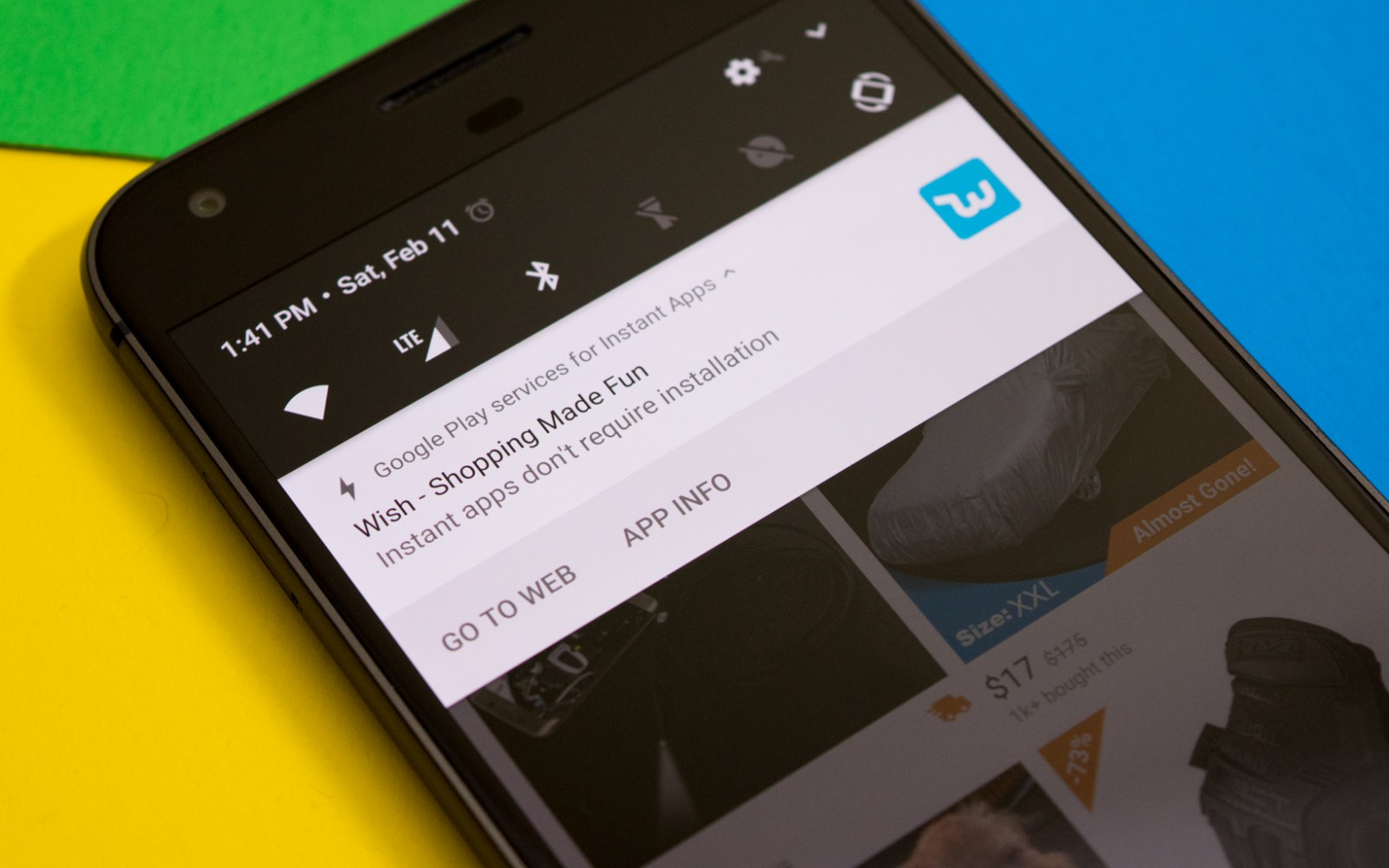 How to opt-in and use Android Instant Apps, currently rolling out to select devices