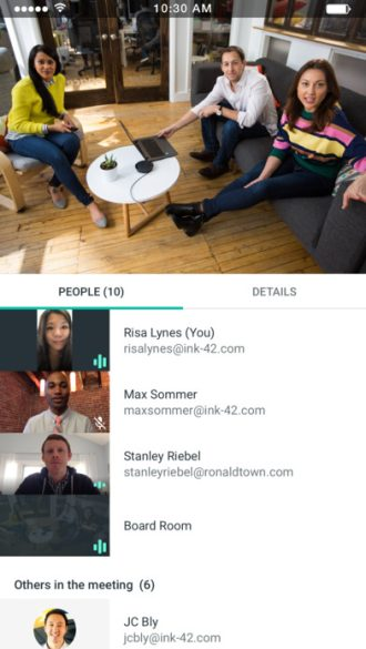 Google quietly launches 'Meet by Google Hangouts,' a new video conferencing app for business