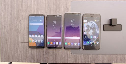 Samsung Galaxy S8 and S8+ vs LG G6 and Google Pixel