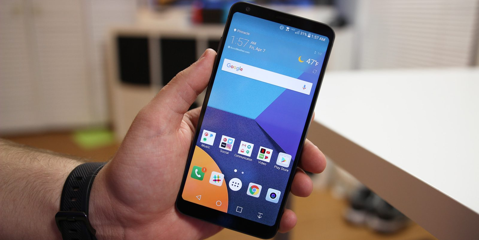 How to take a screenshot on the LG G6 - 9to5Google