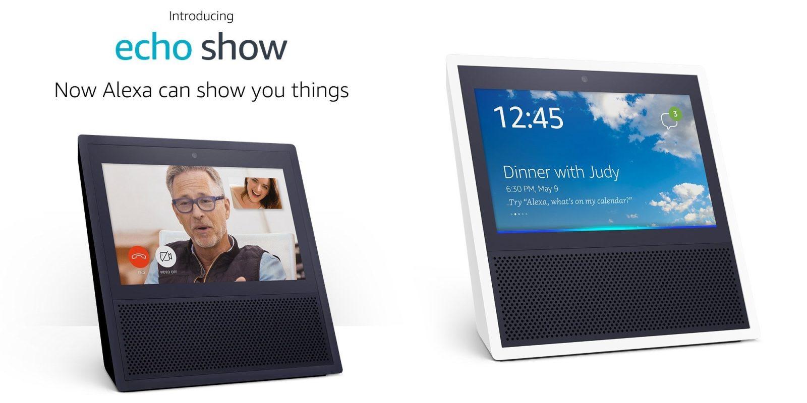 echo show video calling