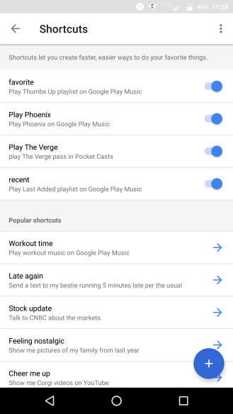 google-assistant-shortcuts
