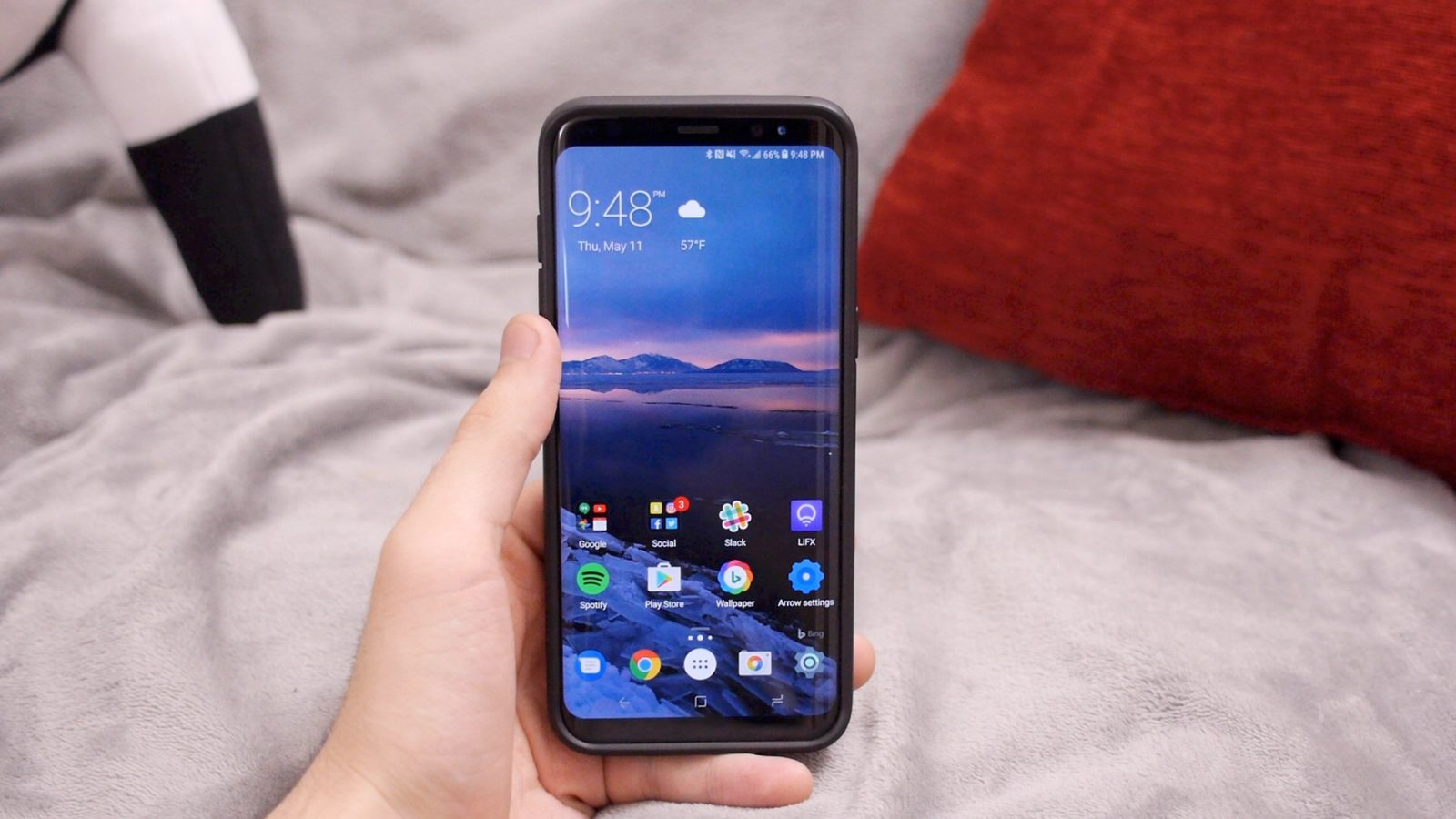 Five Great Launchers To Try On Your Galaxy S8 Video 9to5google