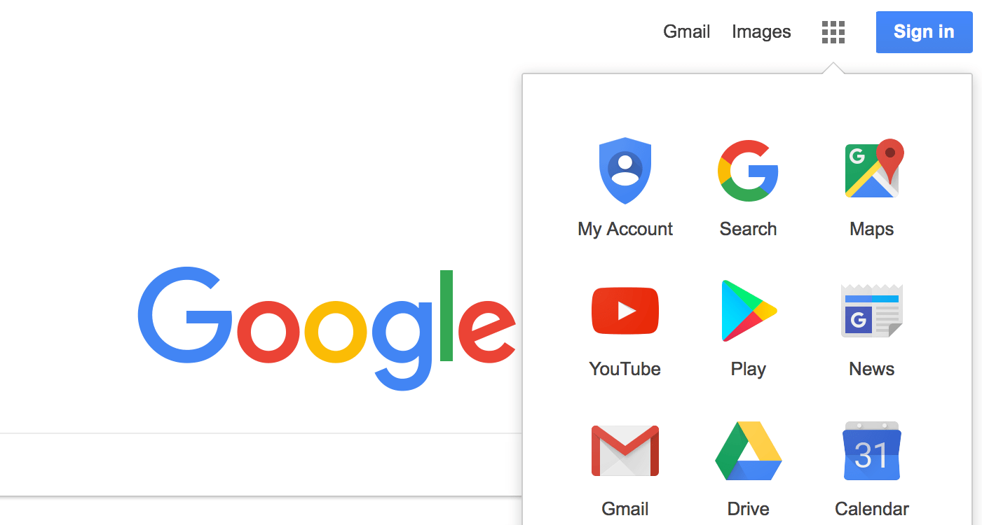 Google reorders layout of web app launcher, only affects new