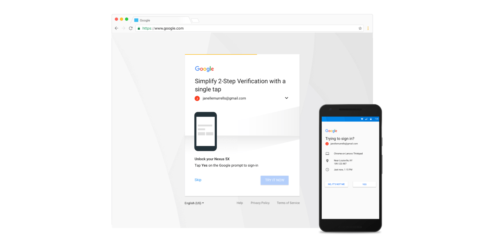 Google Prompts 2 Step Verification Process Revamped With Device And