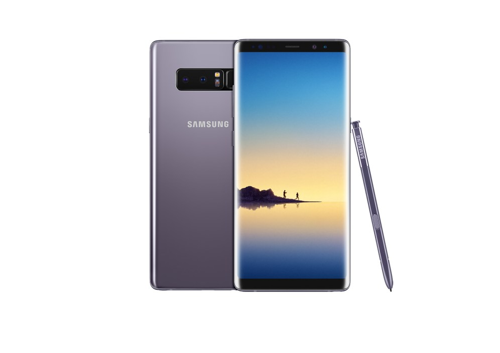 Galaxy Note8 Orchid GrayDual