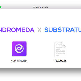 andromeda-dsktop-application