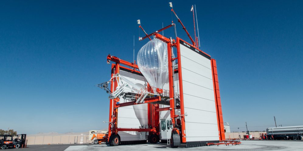 Project Loon launch 1