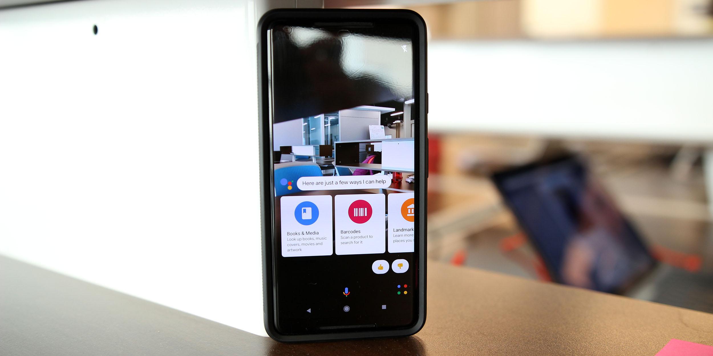 """Google Lens-Überarbeitung in der Entwicklung mit """"Filtern"""" für Speisen, Einkaufen und Übersetzen"""