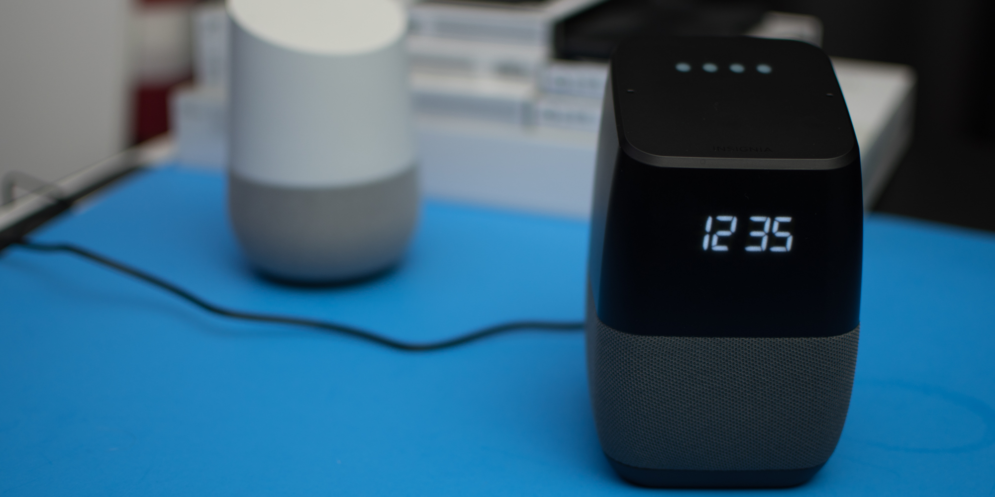Hands-on: Insignia\'s Voice Speaker is the bedside Google Home I\'ve ...