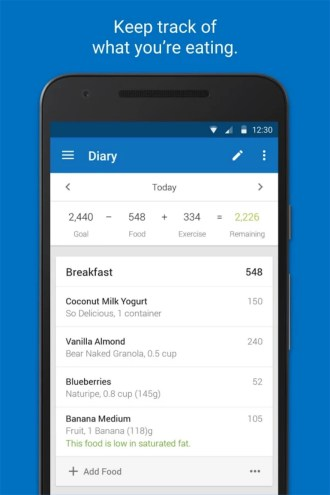 Calorie Counter - MyFitnessPal - Android Apps on Google Play 2018-01-01 13-39-29