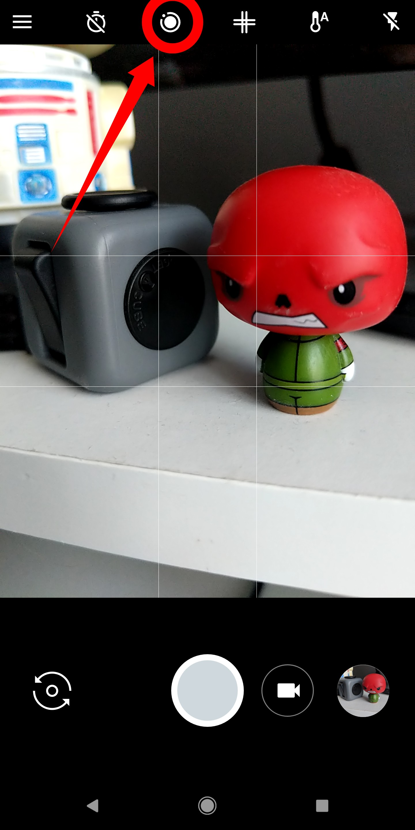 How to turn Motion Photos on or off in the camera app on the