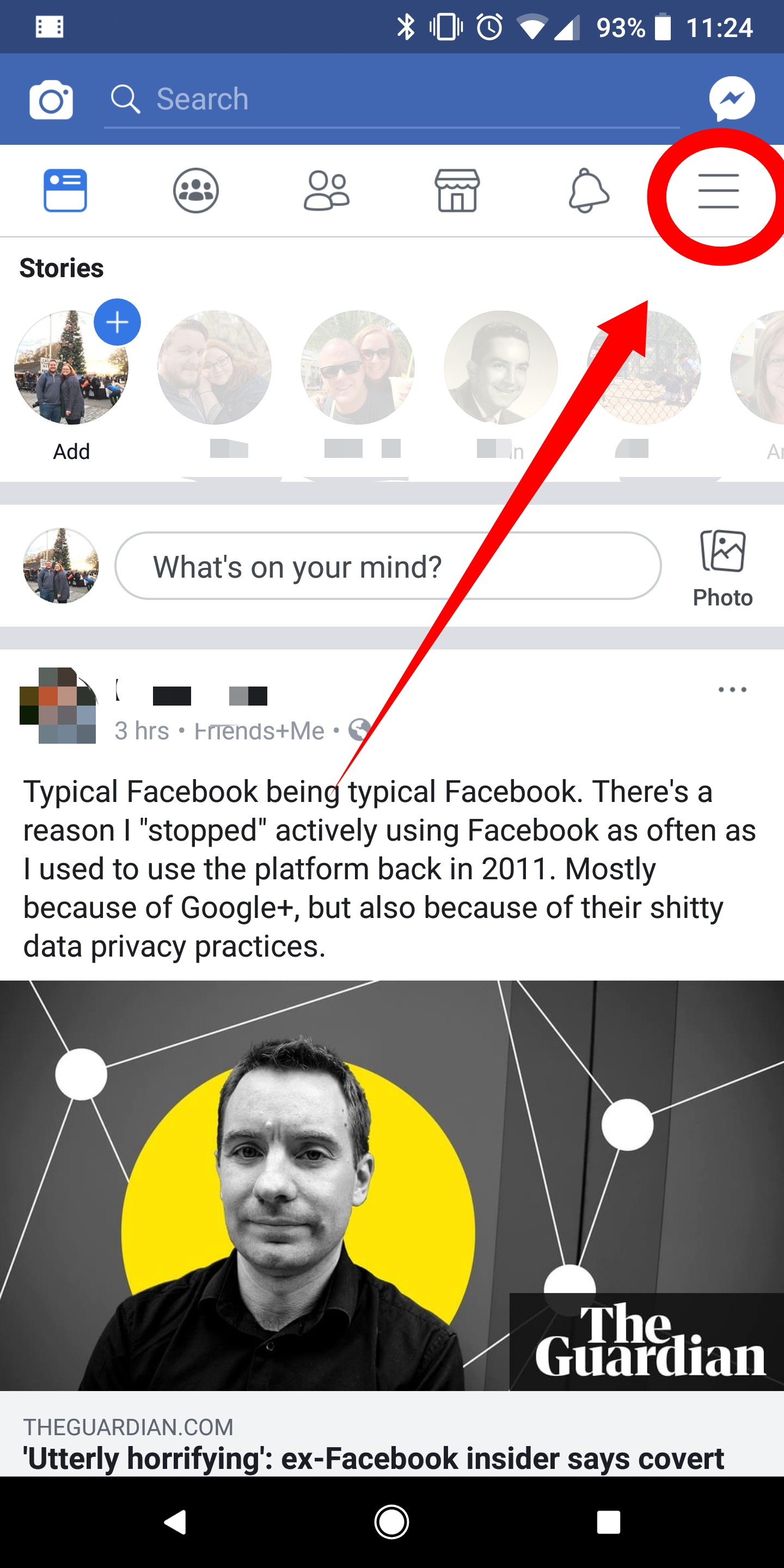 How to delete your Facebook account directly from your Android phone