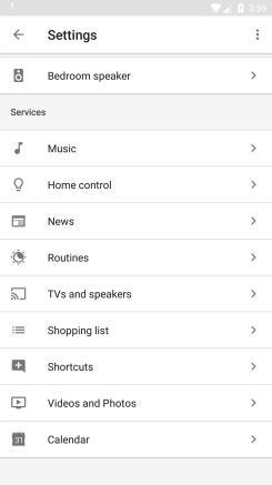 google-assistant-routines-services-list