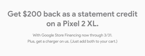 Google Store Pixel 2 XL Deal