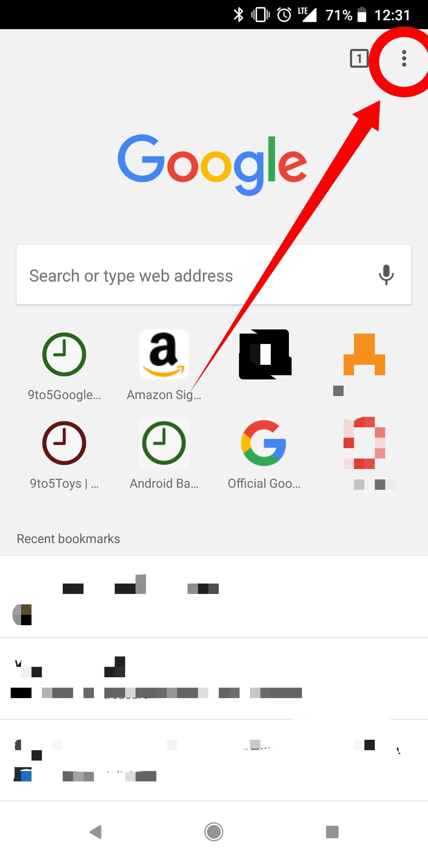 How to delete your Google Chrome browser history on Android