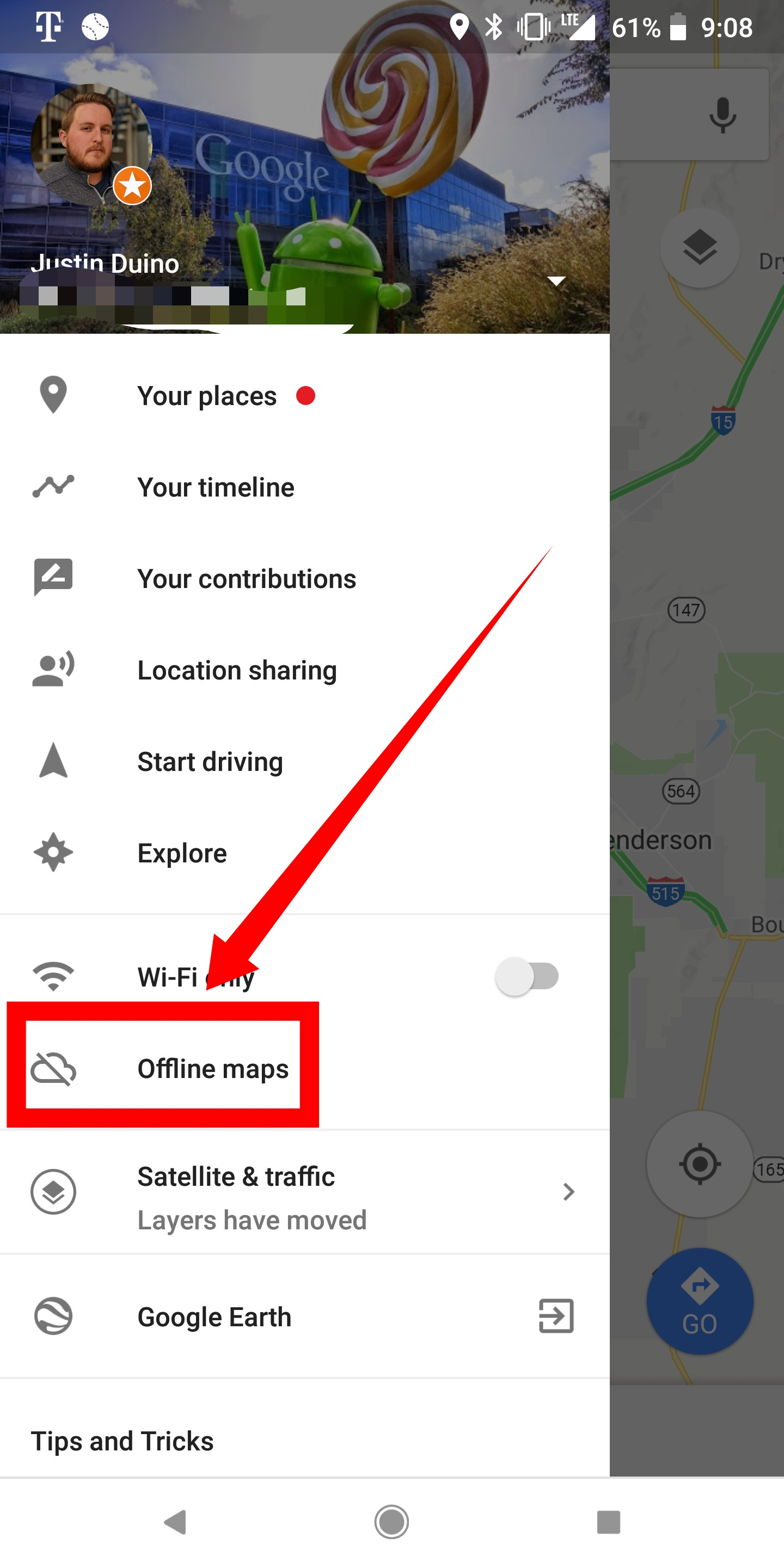How to use Google Maps offline on Android - 9to5Google Save Route Google Maps Offline on google maps search, google maps 280, google maps print, google maps advertising, google maps web, google maps lv, google maps cuba, google maps android, google maps hidden, google maps desktop, google maps home, google maps 2014, google maps error, google maps windows, google maps mobile, google maps iphone, google maps online, google maps de, google maps lt,