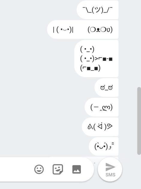 android-messages-web-kaoemoji-1