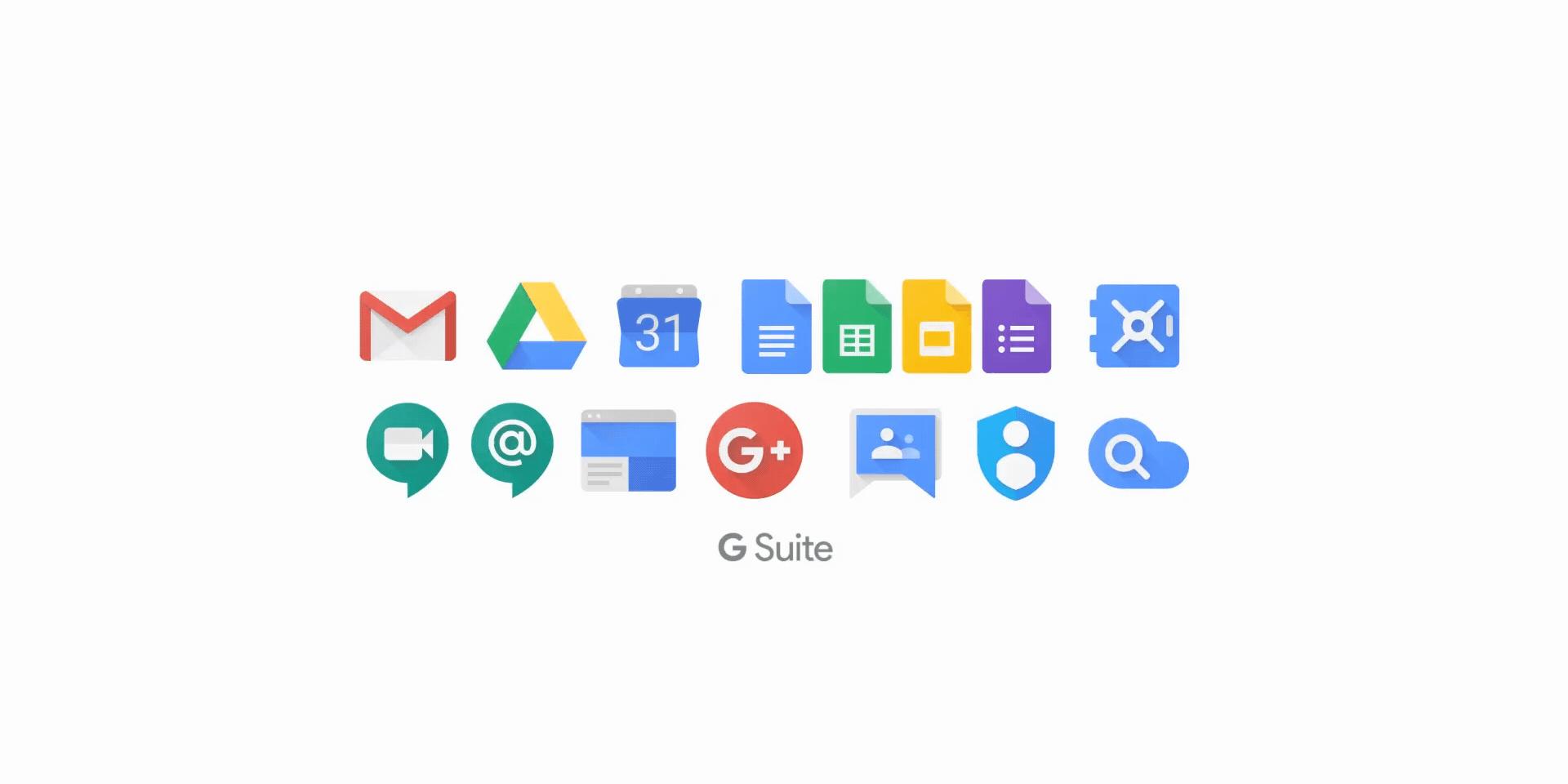 بدائل مايكروسوفت اوفيس- تطبيقات G Suite من Google