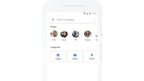 Android Messages search