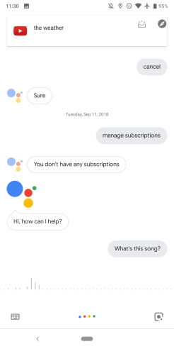 Google Assistant Sound Search