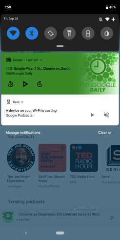Google Podcasts cast